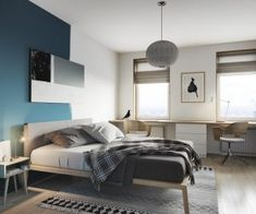 Image result for 14m squared bedroom room
