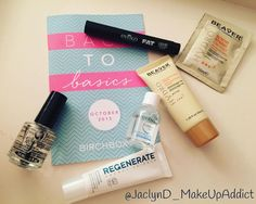 October Birchbox!! I picked back to basics! I love Eyeko so had too!! It was difficult as the other had a cute lipstick but I resisted! It's a nice line up.. I've had bioderma before and it's worth the hype it is the only micellar water that works! Seche is an amazing top coat so pleased to have a back up.. All round nice box very pleased  #Birchbox #BirchboxUK #BirchboxBrag  #BeautyBox #SubscriptionBox #MonthlyBox #MakeUpHaul  #MakeUpAddict #MakeUpHeaven #MakeUpIssues #MakeUpCollection…