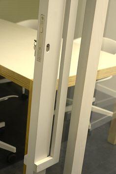 Geek ville - separator doors by Reverse - the particular