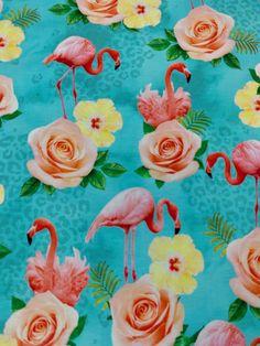 Digitaltryckt Trikåtyg med motiv. Ekologiskt Trikåtyg.Bomullstrikå som är mjuk och stretchig och passar fint till bla, klänning, tröja, tights, mössa, bodys & filtar. Janome, Flamingo, Tights, Horses, Fabric, Animals, Flamingo Bird, Navy Tights, Tejido