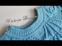 Guler tricotat cu tiv fals.Tutorial. - YouTube Cast Off, Knitting Videos, Color Change, Knitting Patterns, Projects To Try, Pullover, Casual, Youtube, Fashion