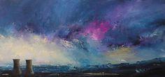 Storm Sky Light, Tinsley Towers - Acrylic
