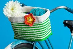 Ravelry: Bicycle Basket pattern by Brenda K. B. Anderson
