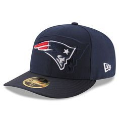 New England Patriots New Era 2016 Sideline Official Low Profile 59FIFTY  Fitted Hat - Navy 66c95e3f4190