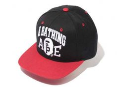 abd701e29bd A BATHING APE Black Red Snapback Hats 004! Only  8.90USD A Bathing Ape