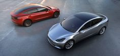 My E-Life Now !: Tesla Unveils Model 3 - March 31, 2016