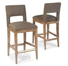 Barstools Barstool w/ Cutout by Fairfield at Belfort Furniture