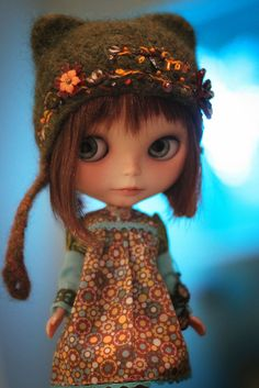 Gigi in Jess's ET...Gigi had to borrow this adorable outfit, hehe <3   Flickr - Photo Sharing!