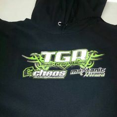 Heat pressed hoodie #ChaosGraphics Www.chaosmxgraphics.com 206-466-1631
