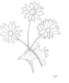 doodle :-) Simple Doodles, My Doodle, Bible Journal, Tattoos, Flowers, Doodle Art Simple, Tatuajes, Tattoo, Royal Icing Flowers