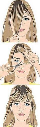 Como hacer un flequillo desmechado