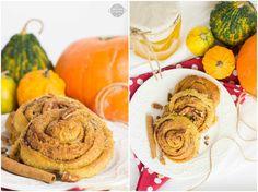 Wholewheat pumpkin cinnamon rolls