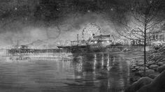 In een verduisterde Botanique in Brussel bouwt Hans Op de Beeck een prentenkabinet. Hij toont er een recente reeks nachtelijke aquarellen, en ook een film, 'Night Time', waarin die waterverftekeningen geanimeerd worden. Nog tot en met 4 januari.