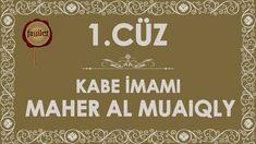 1.Cüz Kuran-ı Kerim Hatim - Maher al Muaiqly | fussilet Kuran Merkezi