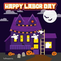 Halloween Countdown, National Days, Happy Labor Day, Holiday Traditions, October, Things To Come, Seasons, Traditional, Poster