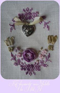 Kit découverte Soies Violette                                                                                                                                                                                 Plus
