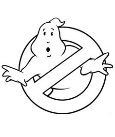 Ghostbusters Coloring Pages Sketch Coloring Page