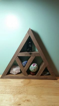 Check out this item in my Etsy shop https://www.etsy.com/listing/262741477/pyramid-crystal-display-stand-crystal