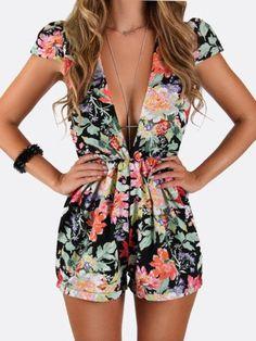 Los modelos florales cortos son tu mejor opción esta primavera. #Fashion…