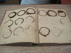 Victorian Family Album of Antique Hair Art from 1839 to 1884.  Sold on eBay