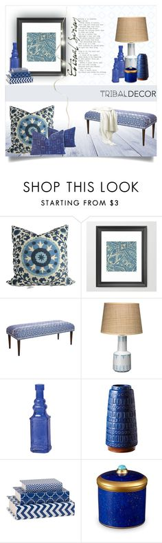 """TD"" by lulunam ❤ liked on Polyvore featuring interior, interiors, interior design, home, home decor, interior decorating, Jamie Young, Cultural Intrigue, Dot & Bo and L'Objet"