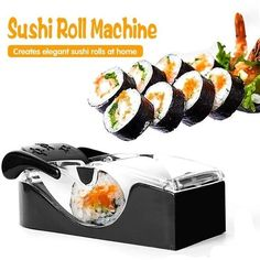 Sushi Menu, Diy Sushi, Cooking Gadgets, Cooking Tools, Cooking Recipes, Sushi Recipes, Asian Recipes, Healthy Recipes, Cool Kitchen Gadgets