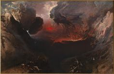John Martin Great Day of His Wrath Oil on canvas 303 x 197 cm Tate Gallery (London, United Kingdom) ___ This painting forms part of a triptych of 'judgement pictures' inspired by. Art Et Nature, Google Art Project, Stefan Zweig, John Everett Millais, Tate Britain, Tate Gallery, Art Japonais, Damien Hirst, John Martin