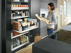 Kitchen design trends change year on year so discover all of the 2018 Australian kitchen trends you need to know here, from new tapware colours to storage hacks and more! Kitchen Pantry Design, Kitchen Organisation, Open Plan Kitchen, Modern Kitchen Design, Home Decor Kitchen, Interior Design Kitchen, Kitchen Storage, Home Kitchens, Organization
