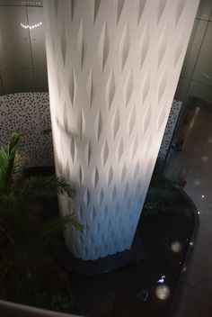 Mumbai airport column to pond