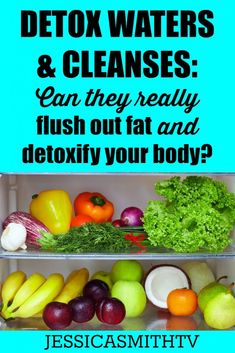 Detox Water for Weight Loss Fat Flush - Can you really skip the diet and get healthy with a cleanse or water recipe? Get the facts: