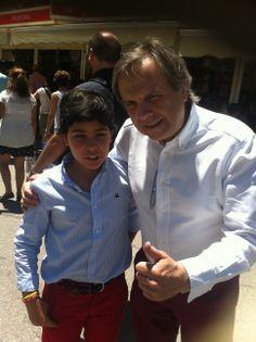 Con el catedráticoy político Antonio Miguel Carmona