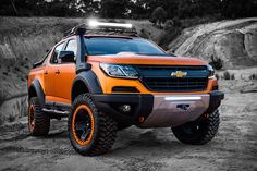 The Chevrolet Colorado Xtreme Truck