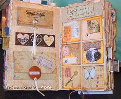 Altered Books Journals Journals - altered books