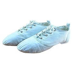 833551c32fe6 Luckyst Jazz Shoes to Help Low Canvas Ballet Dance Shoes 866 Foot length 6    See