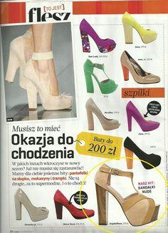FLESZ MAGAZINE  www.sequinshoes.plE