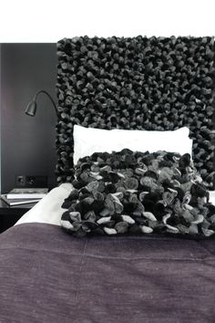 Luxury headboard, blanket, quilt, pillow, www.satunisu.fi, interior, design, unique, handmade
