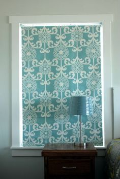 Fabric covered roller shade, a great way to customize your window coverings