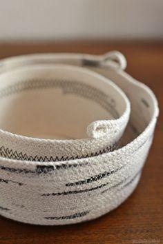 DIY rope bowl - nadel&gabel