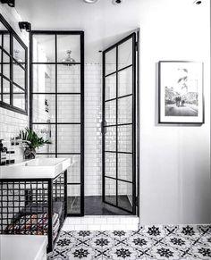 Bathroom Inspiration : Fayola Decor - Decoration For Home Bathroom Renos, Bathroom Renovations, Bathroom Interior, Home Remodeling, Bathroom Ideas, Bathroom Cabinets, Bathroom Tray, Glass Bathroom, Glass Shower