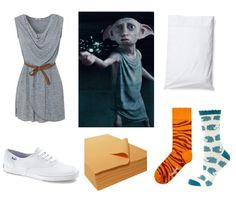 dobby A Very Geek Chic Halloween: 10 Geeky DIY Costume Ideas I may have found my costume Harry Potter Fancy Dress, Theme Harry Potter, Harry Potter Halloween, Harry Potter Outfits, Diy Costumes, Halloween Costumes, Costume Ideas, Cosplay Ideas, Dobby Costume