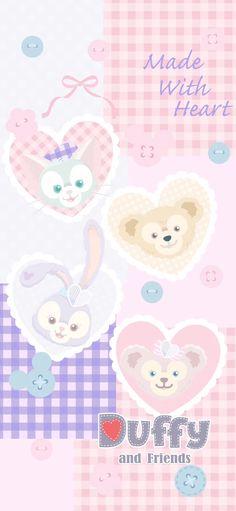 Wallpaper Iphone Disney, Kawaii Wallpaper, Cartoon Wallpaper, Duffy The Disney Bear, Disney Love, Melody Hello Kitty, Friends Wallpaper, Iphone Wallpaper Tumblr Aesthetic, Creative Instagram Stories