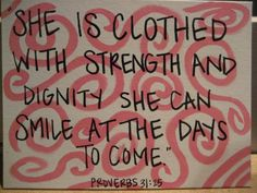 Makes me think of my MIL. Such strength and grace I have never seen. Quotable Quotes, Bible Quotes, Bible Verses, Wall Quotes, True Quotes, Scriptures, Great Quotes, Quotes To Live By, Inspirational Quotes