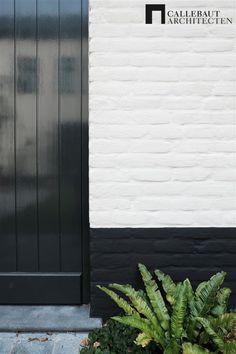 Restauratie 'Landhuis Kouterhof' - Callebaut Architecten i. - Restauratie 'Landhuis Kouterhof' – Callebaut Architecten i. Best White Paint, White Paint Colors, Exterior House Colors, Exterior Design, Futuristic Architecture, Architecture Design, Boundry Wall, Ancient Greek Architecture, Modern Farmhouse