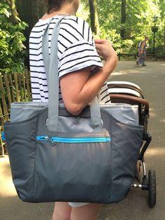 Ideaal deze Koeltas van Alfi, tas bestaat uit twee delen een koeltas en draag tas dus handig voor boodschappen of een dagje weg!