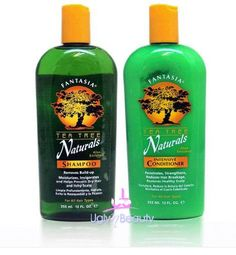 Fantasia IC Tea Tree Naturals Shampoo 12oz   Conditioner 12oz (Combo Set) -- Continue to the product at the image link.