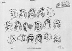 dreamworks road to el dorado Miguel sketches