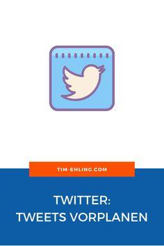 Wusstest du das man auf Twitter, ohne weitere Tools die Tweets planen kann? In dem Artikel zeige ich dir wie das geht.  #twitter #tweet #socialmedia #contentplanung #twittertipps #twittertricks Pinterest Profile, Twitter Tweets, Marketing, Tricks, Letters, Psychics, Deutsch, Products, Knowledge
