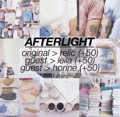 Afterlight filter