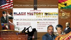Join us to celebrate #BHM at the Dubois Center with the African American Assn of Ghana.