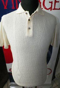 .  4488 .- GEOMETRIC LON BAN VINTAGE SIXTIES - SIZE MEDIUM Medium, Mens Tops, T Shirt, Vintage, Fashion, Supreme T Shirt, Moda, Tee Shirt, Fashion Styles